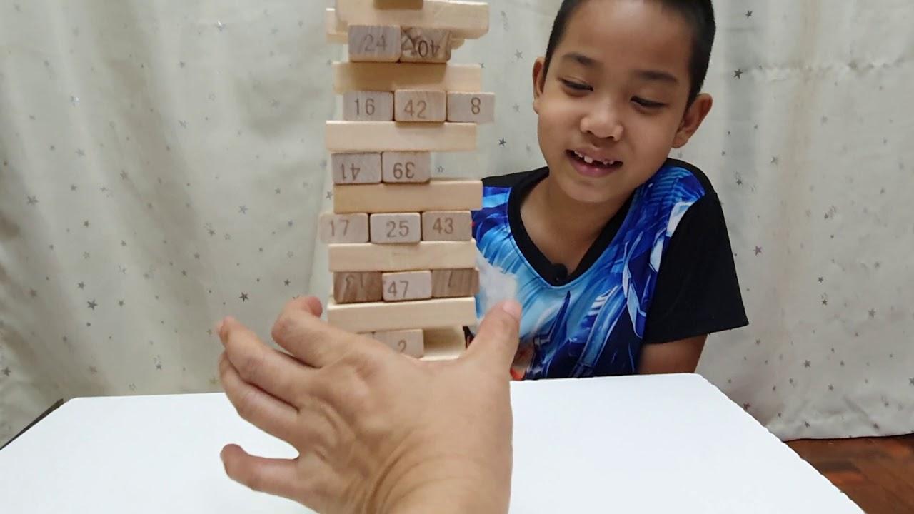 เกมไม้จังก้า (Jenga) หรือเกมตึกถล่ม (Building block)
