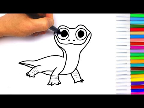 disegno-bruni-frozen- -disegni-facili-per-bambini