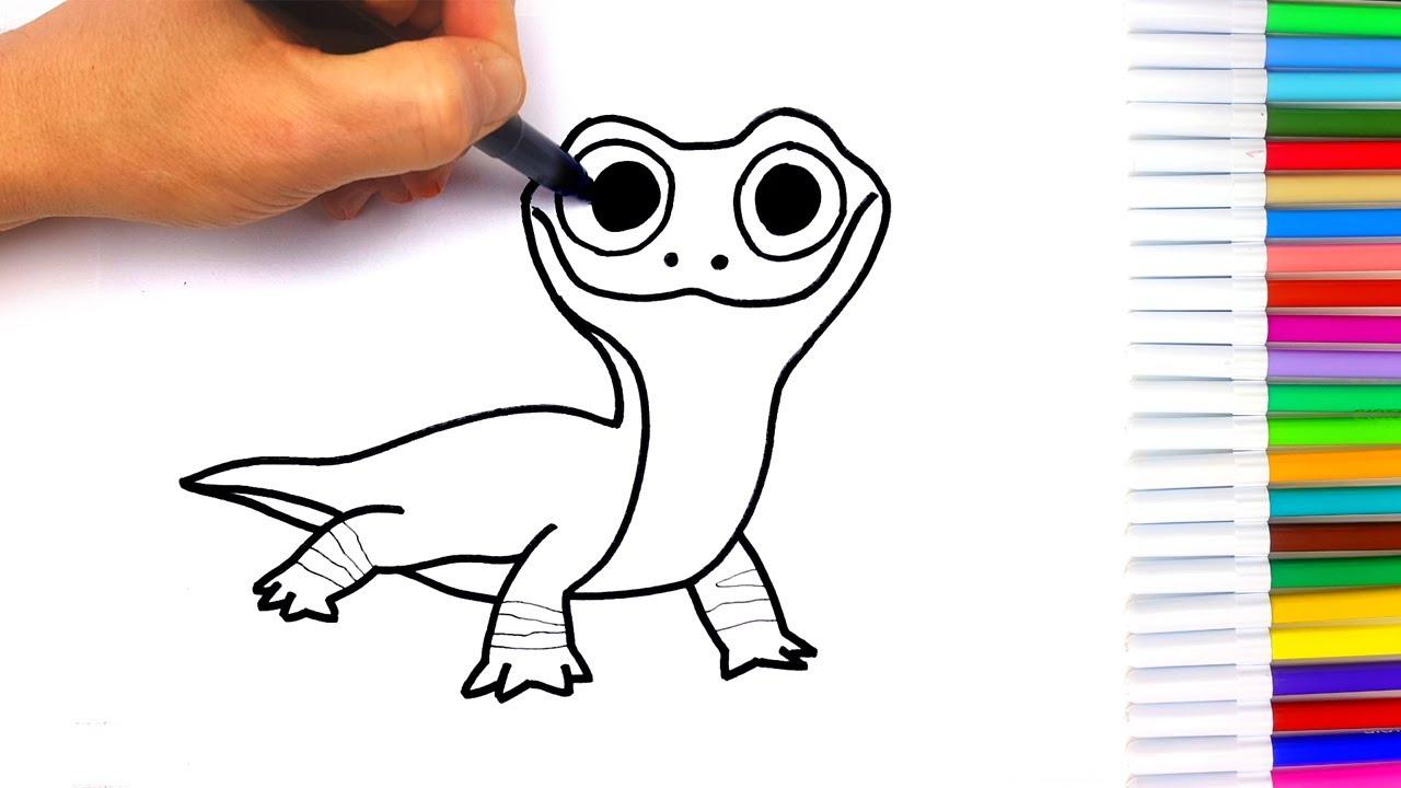 Disegno Bruni Frozen Disegni Facili Per Bambini Youtube