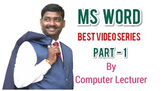 MS word Home tab | Format painter | Cut | Copy | Paste options in Clip board group