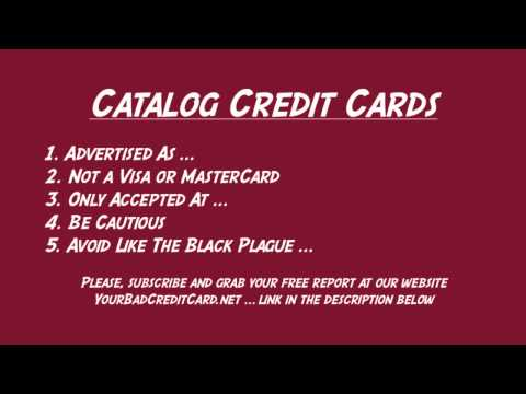 Catalog Credit Cards