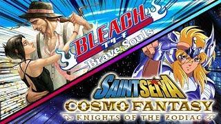 🔴[DOUBLE STREAM] BLEACH BRAVE SOULS + SAINT SEIYA COSMO FANTASY (Détails en description)