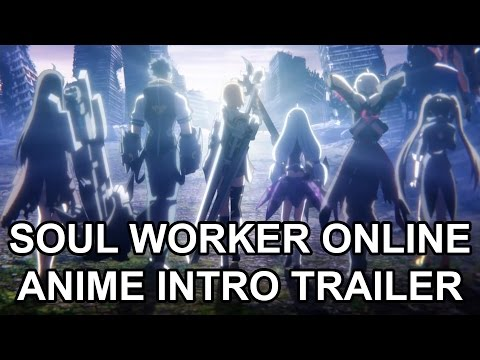 Soul Worker Online Animation Promo Trailer