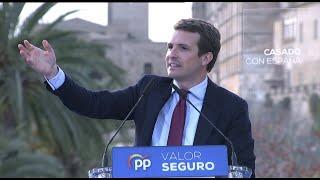 """Casado asegura que Baleares no será un """"apéndice de los 'Països Catalana'"""""""