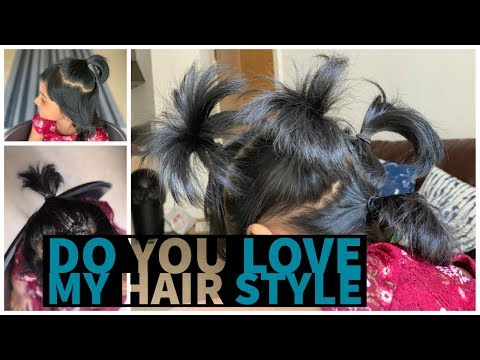 Kids Hairstyle | Hairstyles for very short hair | Easy hairstyles for kids thumbnail