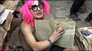 VLOG ● Нашли старинные архивы в подземельях !