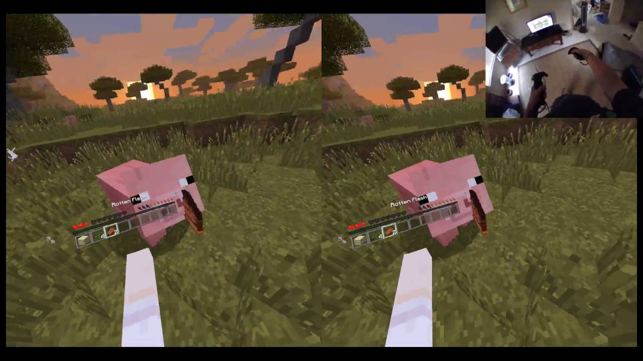 how to play minecraft in vive vr