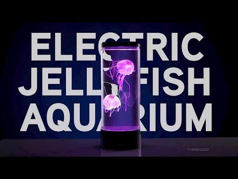 Electric Jellyfish Aquarium From ThinkGeek