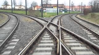 Schwerin Tramways Route 1 Kliniken – Hegelstraße Straßenbahn Schwerin Linie 1