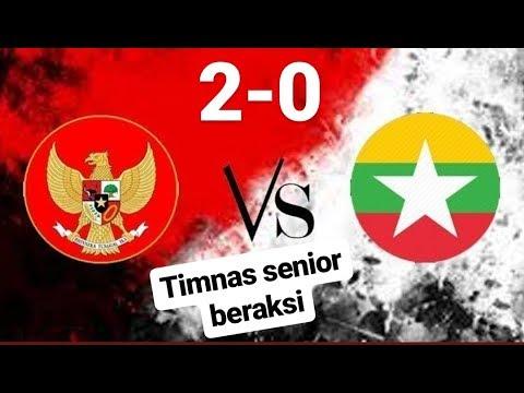 Hasil Timnas Senior Indonesia Vs Myanmar 2-0