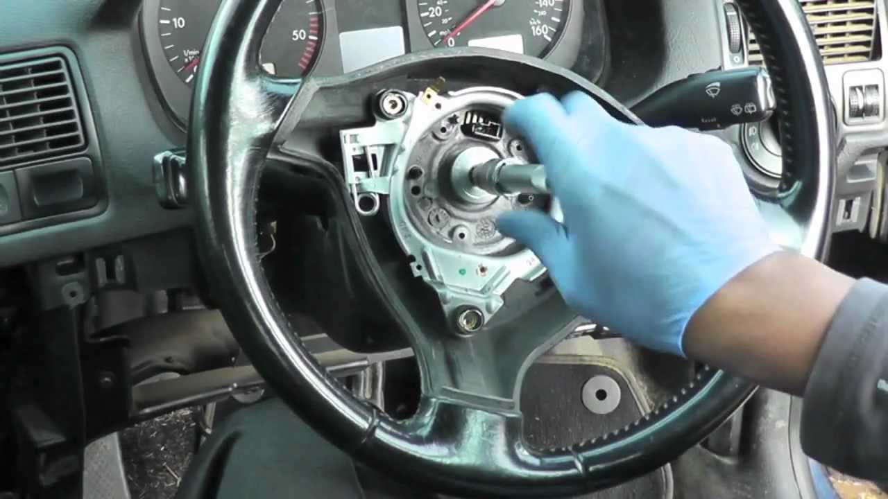 Golf 4 Less >> Volkswagen Golf Jetta Steering Wheel Airbag Removal