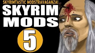 Skyrim Mods - Skyrimtastic Modstravaganza #5 - Medusa Armor, Mature Skin, Gypsy Eyes, et al [RE-UP]