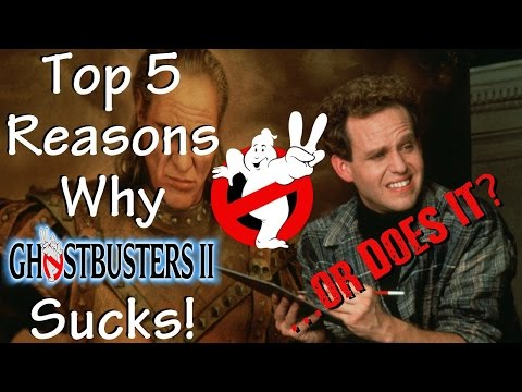Top 5 Reasons Ghostbusters II Sucks! ...or Does It?