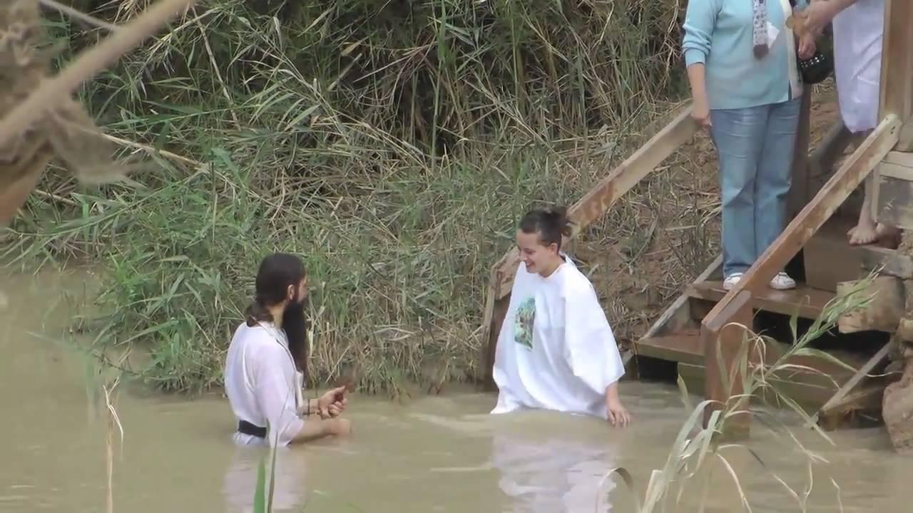 jesus u0027 baptism site jordan river epiphany mov youtube