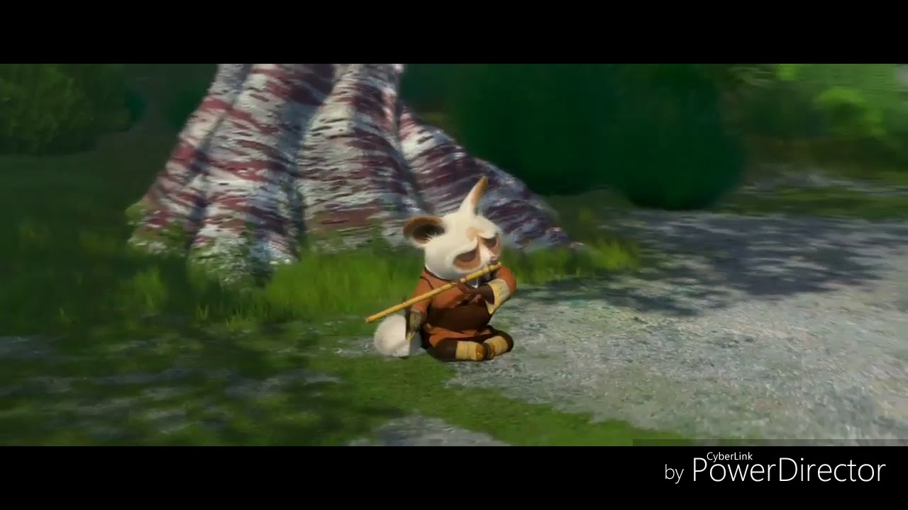 furious five attacks shifu, oogway's vision [kung fu panda -hd