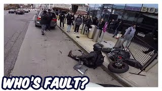 WHO'S FAULT??   CRAZY ANGRY PEOPLE, CRASHES & CLOSE CALLS 2019