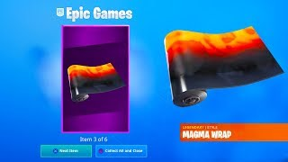 "How To Get The New ""MAGMA"" Wrap For FREE In Fortnite! (Magma Wrap Gameplay)"