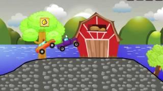 Онлайн игра гонки в деревне  Бесплатные игры для детей