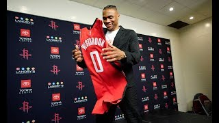 Houston Rockets Introduce Russell Westbrook | Full Press Conference Part 2