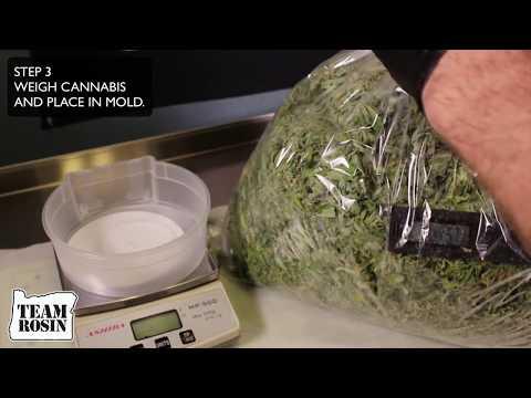 RP 5000 Rosin Press. TEN STEPS to maximum cannabis rosin yields.