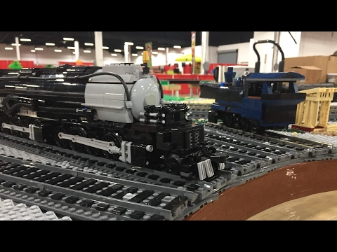LEGO Philly BrickFest Live! 2017 - PennLug Trains 1080p HD