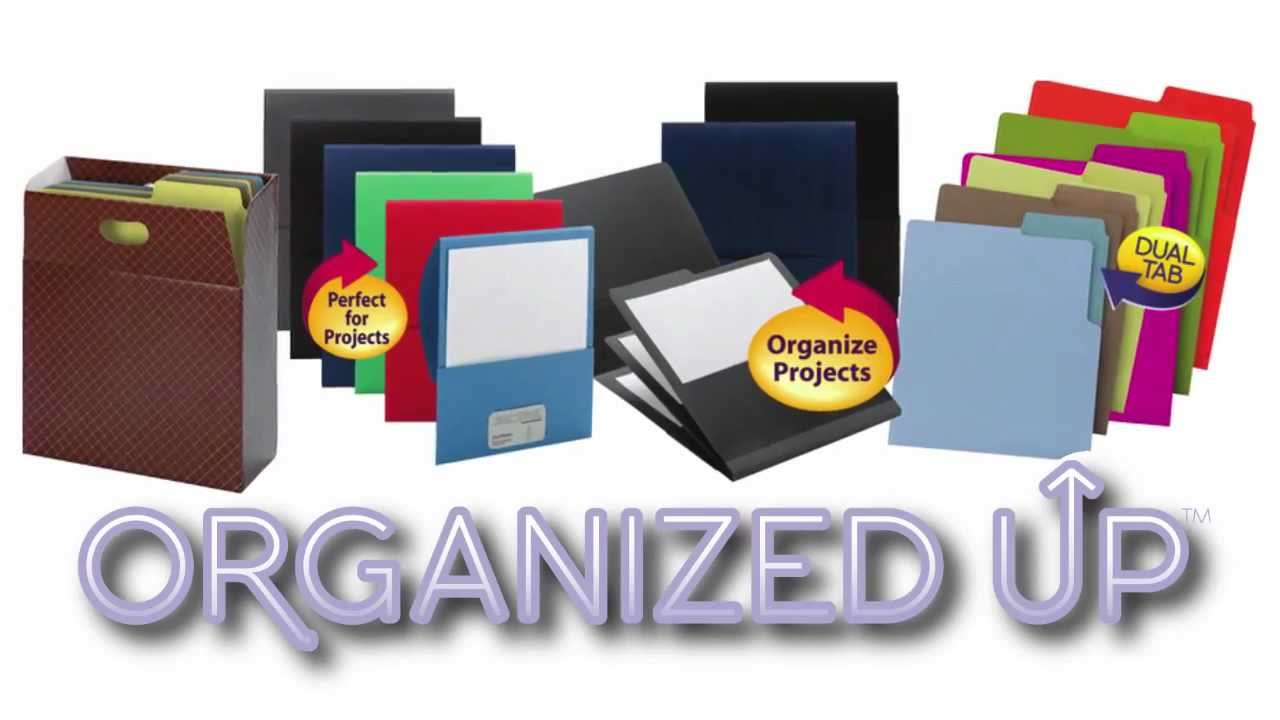 Vertical File Folders Organized Up Collection From Smead