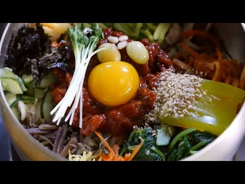 Korean Bibimbap and Attractions in Jeonju