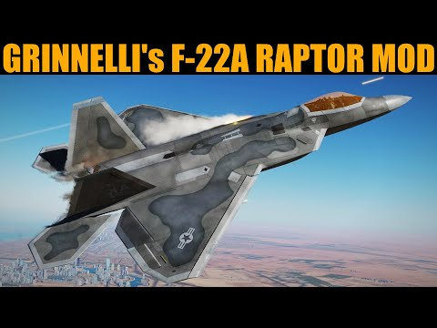 How To Download, Install & Use F-22A Raptor (Grinnelli) Mod   DCS WORLD