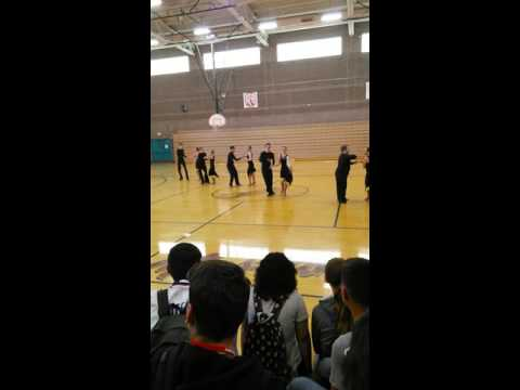 Dance performance at Grant Sawyer Middle School