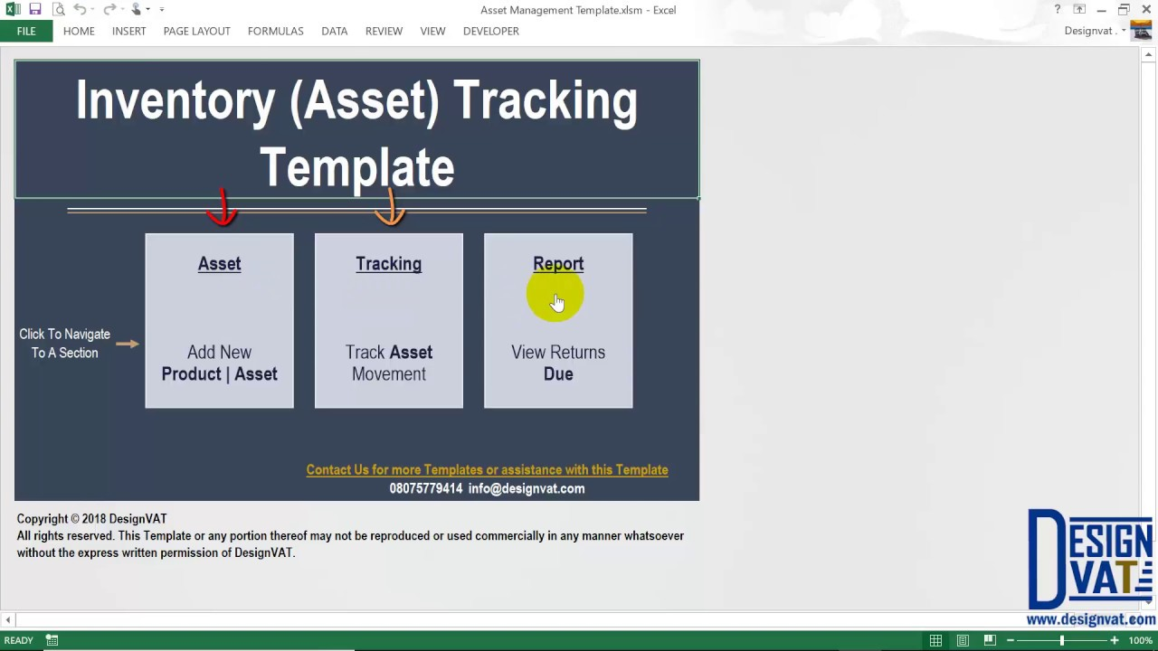 You can also track, manage and control stock. Asset Movement Tracking Spreadsheet Youtube