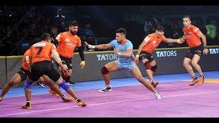 Pro Kabaddi 2018 Highlights:   U Mumba vs Bengal Warrior