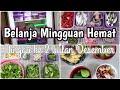 Belanja Mingguan Hemat Minggu ke 2 Bulan Desember 2020 | Food Preparation | Resti Sitompul