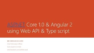 asp net core mvc 6 web api angular 2 typescript part 1