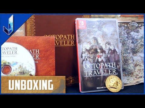 Octopath Traveler Wayfarer&39;s Edition Unboxing
