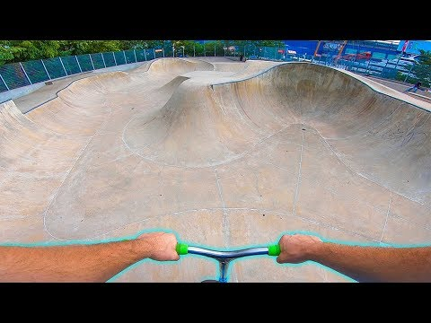 Exploring Largest Skatepark In New York!