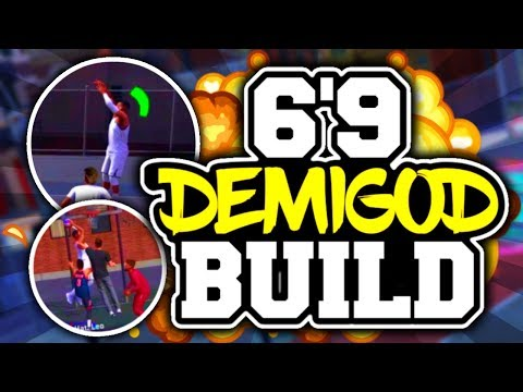 OVERPOWERED SLASHER BUILD IN NBA 2K18! ● CRAZY CONTACT DUNKS! ● BEST SMALL FORWARD BUILD!