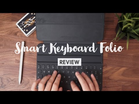 iPad Pro Smart Keyboard Folio Review (2019) - My favourite typing experience of all time