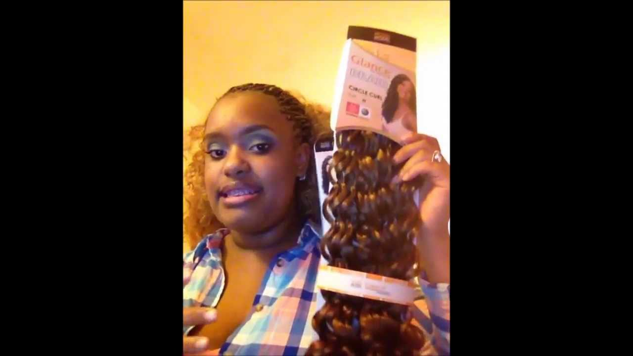 Box Braids Circle Curl Youtube