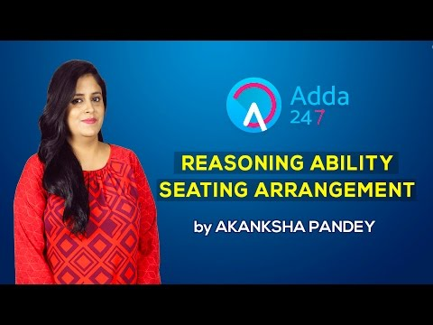 Reasoning for Bank Exams (Seating Arrangement)