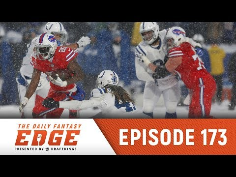 Historic Snow Game, Injured QBs, Steelers are Red Hot | Daily Fantasy Edge Ep. 173