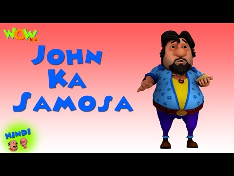 John Ka Samosa - Motu Patlu in Hindi - 3D Animation Cartoon for Kids - As on Nickelodeon thumbnail