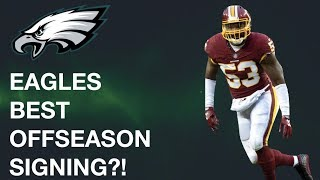 IS ZACH BROWN THE ANSWER AT LINEBACKER?! | EAGLES FILM ROOM