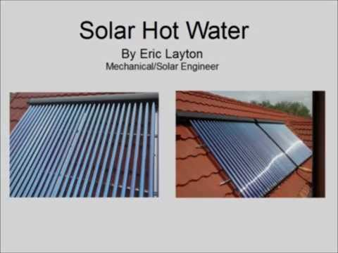 Understanding Solar Hot Water