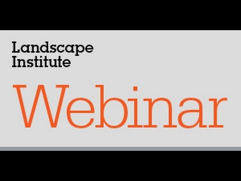 Webinar: Disambiguating landscape assessments and appraisals