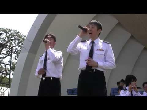 """嵐 ARASHI """"Furusato"""" 🎤 Japanese Navy Band"""