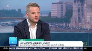 Megtámadták az ECHO TV stábját - Bohár Dániel - ECHO TV