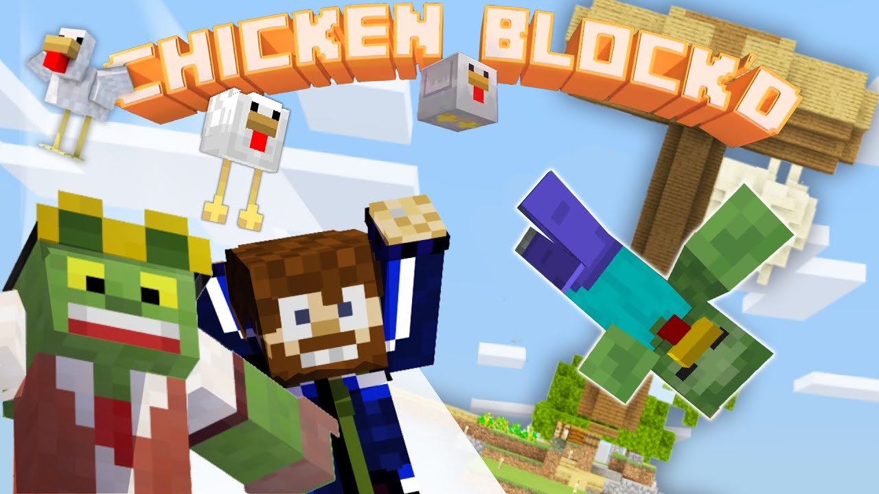 Mobs farming! - 🐣CHICKEN BLOCK'D pt.3