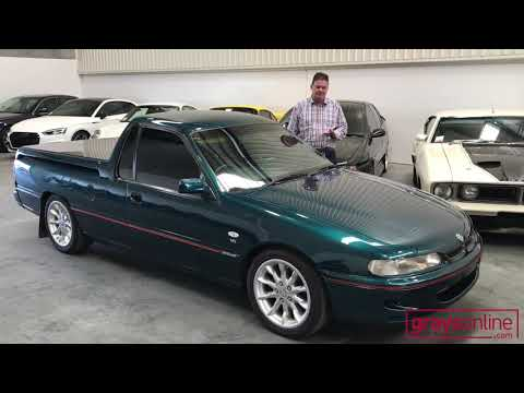 GraysOnline Classics: 1997 Holden VS Ute