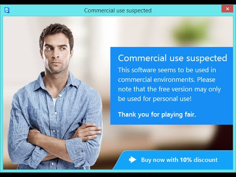 "Solved TeamViewer ""Commercial Use Suspected!"" - FOREVER!!!"