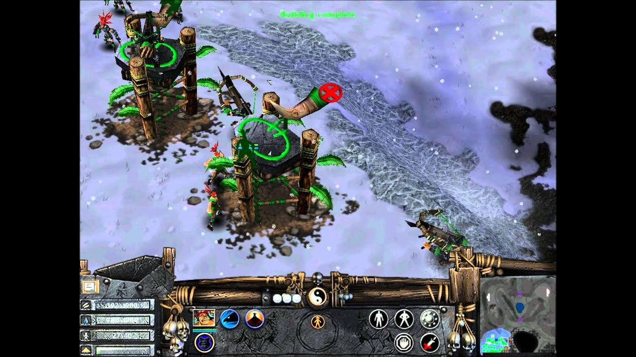 Walkthrough Battle Realms Winter Of The Wolf Mission 8 Youtube